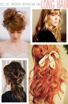 Ideas for my long hair?