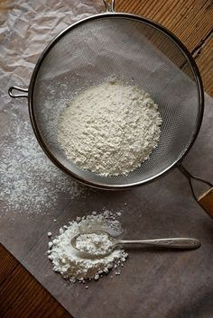 Cake flour. Why you need it, and how to make it.
