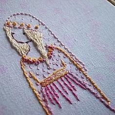 Imagem de bordados y tejidos