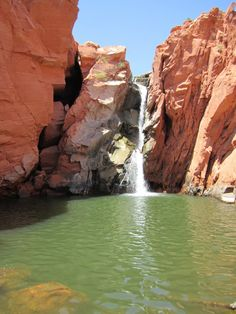Top 10 Things to do in St. George Utah: Gunlock Waterfalls and Pools | Kayenta Utah--Easter 2013