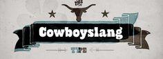 Cowboyslang font download