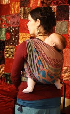 didymos orient woven wrap. so beautiful - This is my dream wrap <3 Liam and I will have this soon. Real soon. :)