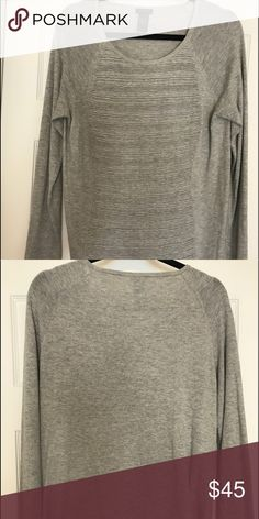 Ann Taylor rubbed sweater. Size large Ann Taylor rubbed detail sweater. Size large. Ann Taylor Sweaters Crew & Scoop Necks