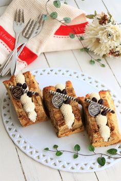 「大人のほろ苦カフェオレシフォンケーキ」きゃらめるみるく | お菓子・パンのレシピや作り方【corecle*コレクル】 Cake Receipe, Sandwich Cake, Sandwich Ideas, Bakery Packaging, Sweet Cooking, Beautiful Desserts, Chiffon Cake, Sweet Cakes, Fashion Cakes