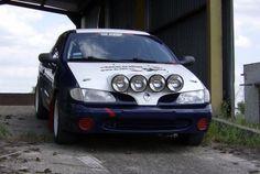 Rajdowy trening jazdy Renault Megane