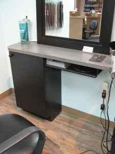 Hair Salon Stations for Sale | Hair Salon Stations / black cabinets for sale - $25 (Central Coquitlam ...