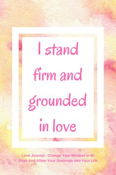 Daily love affirmation to help you improve your mindset ready to accept love and to help you manifest your ideal soulmate. Use the affirmation and see what it brings up for you, then work on eliminating any limiting beliefs. From the Love Journal: Ch - Funny Relationship, Relationships Love, Healthy Relationships, Mirror Reflection, Positive Thoughts, Positive Quotes, Positive Mindset, Love Journal, A Course In Miracles