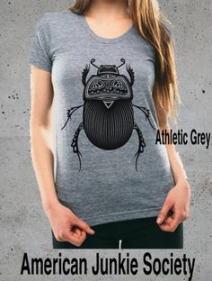 BEETLE Shirt Insect T-shirt__Women Graphic Tee()~ Top Hipster Grunge American Apparel Top Girlfriend Gift Womens Clothing by AmericanJunkieSoc on Etsy https://www.etsy.com/listing/244965991/beetle-shirt-insect-t-shirtwomen-graphic