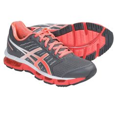 Id like to expand my collection of running shoes!  Asics GEL-Cirrus33 Running Shoes (For Women) in Storm/Electric Melon/Lightning