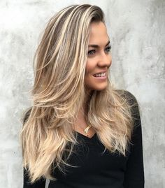 Blonde haircuts 297117 40 trendy hairstyles for long blonde hair 2019 Hairstyles For Layered Hair, Cool Hairstyles For Men, Haircuts For Long Hair, Straight Hairstyles, Stylish Hairstyles, Beautiful Hairstyles, Blonde Haircuts, Bride Hairstyles, Hairstyles Haircuts