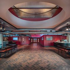 Image 3 of 10 from gallery of BFI Southbank Riverfront / Carmody Groarke. Photograph by Luke Hayes Arch Interior, Cafe Interior, Interior Architecture, Interior Design, Luke Hayes, Ladies Who Lunch, Cool Cafe, Perfect Place, Entrance