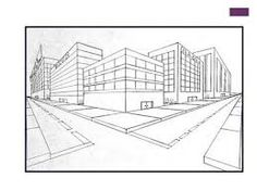 Image result for two point perspective drawing