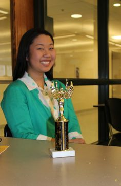 Congratulations to Caroline Lindey '17 who received the 3rd place over-all trophy in the Impromptu category at the Keystone Oaks Invitational Speech Tournament on April 5.