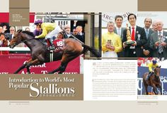 Introduction to World's Most Popular Stallions Read more http://issuu.com/blacktype/docs/150127_blacktype_issue5/1… #blacktypehk #horseracing #luxury