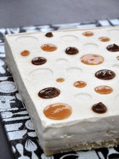 Entremet salidou, mousse au caramel et pommes poêlées - Dans la cuisine d'Audinette