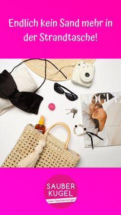 Du möchtest, dass deine Strandtasche frei von Sand bleibt? 🏝 Die Sauberkugel ist die Lösung! #sauberkugel #handtasche #tasche #taschenliebe #musthave #frauenthema #mädchenkram #geschenk #geschenkidee #lifehack #hack #taschenreiniger #handtaschenreiniger Kugel, Strand, Straw Bag, Bags, Fashion, Handbags, Moda, Fashion Styles, Fashion Illustrations