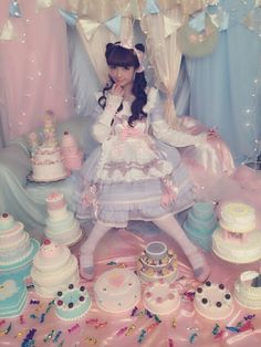 Misako Aoki - kawaii pastel lolita fashion