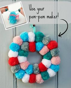 Issue 64, on sale at the end of the month, comes with a fab free pom-pom maker!
