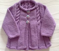 Little Vintage morning coat.Ready to ship. Source by neslihanoztin Coat Baby Booties Knitting Pattern, Knitted Baby Cardigan, Baby Knitting Patterns, Baby Patterns, Girls Sweaters, Baby Sweaters, Morning Coat, Cardigan Design, Baby Coat