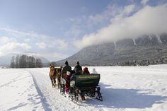 Op Sonnenplateau Miemingen geniet je van het winterwonderlandschap!