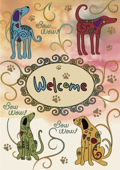 Toland Home Garden 112621 Bow Wow Welcome Decorative Garden Flag, 12.5 by 18-Inch by Toland Home Garden. $11.99. Decorative flags by Toland feature licensed artwork that is favored by flag flyers. Garden Flag Size: 12.5 inches by 18 inches. Toland Flags are Heat Sublimated to permanently dye fabric for long lasting color. Sublimated Flag made from 600 denier polyester fabric. All Toland Flags are machine washable and UV, mildew, and fade resistant. The Bow Wow Welcome ...