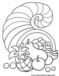 Turkey coloring page   Fonts and Free Printables   Pinterest ...