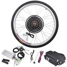 Brushless Electric Bicycle Motor, 36v 500w Rear Wheel 6 Gear Hub