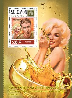 SLM 14311 b	The 60th anniversary of Joe DiMaggio and Marilyn Monroe's marriage