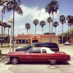 Cadillac Coupe de Ville, en Miami