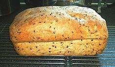 World-Famous Low Carb Bread from Food.com: While we are doing Low Carb, we miss a slice of bread or the ability to take a sandwich to work. This allows us the freedom to do just that. * The sugar is totally consumed by the yeast and does not contribute to the carb count. This bread is approximately 4 grams of carb per slice.