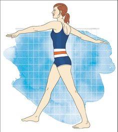 6 Aqua-Pilates-Übungen, die den ganzen Körper straffen