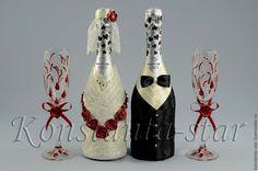 Купить Коллекция свадебных аксессуаров в цвете марсала - бордовый, марсала, цвет марсала