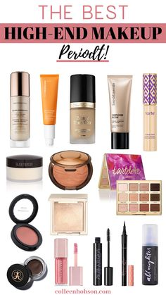 These are the best high end makeup products that are worth the money. #best #highend #makeup #products