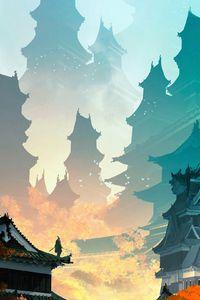 Sekiro The High Temple 4k In 2020 Art Wallpaper Iphone Animation Art Character Design City Wallpaper