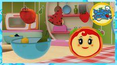Cartoni animati - Giochi per bambini: Margherita e le fragole e la frutta