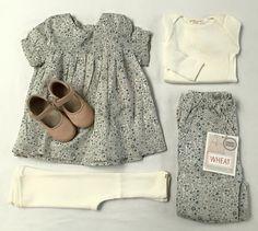 Bali leggings & Belfast blouse in cream