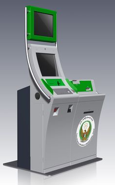 DNRD Government kiosk. The self-service kiosk… delivers a visa approval ticket with a code on, and lets the applicant get his/her visa without waiting in any queues.