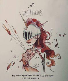 sagittarius (♐) by Alef Vernon