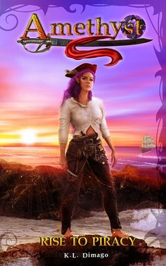 https://kellan-publishing.selz.com/item/amethyst-rise-to-piracy Forced into an abusive marriage and a destiny out of her control, Amethyst flees to the seas looking for freedom. However, she finds the oceans rough and wild, which leaves her searching for something more.