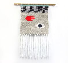 Intuition - Handmade Woven Tapestry