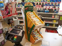 This custom counter top corrugated display helped launch the BelVita bars.  The individual package allowed consumers to try the bars on impulse at the register.  The multiple bar packages can now be found in most major retailers.  The custom display provided a venue consistent with the quality of the brand, and the graphics and wording played to the natural, wholesome benefits of the bars.