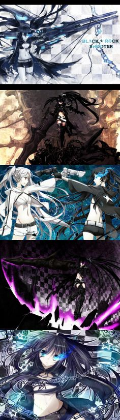 Black Rock Shooter Chain