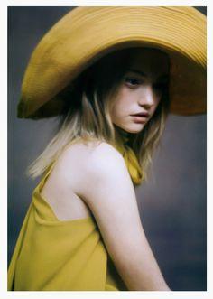 Gemma Ward for Hermes, Roversi, 2005