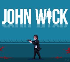 pixeljeff:  John Wick : The Game Just a pixel fan art tribute to John Wick: Chapter 3