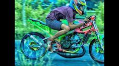 JOSS !! Team Balap T2M BANYU BIRU - Drag Bike Racing Videos