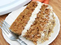 Gluten who Honey you wont be missing gluten at all once you taste this fluffy moist gluten free carrot cake I bet you wont even be able to tell a difference...