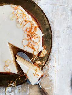 Ambrosiakakku | Leivonta, Makea leivonta | Soppa365 Communion Cakes, Cake Toppers, Sweets, Baking, Dessert, Sweet Pastries, Dessert Food, Gummi Candy, Patisserie