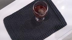 Podkładka ze sznurka bawełnianego - Sploty - Podstawki i podkładki