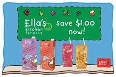Have you stopped by the Ella's Kitchen® farmacy yet? It's filled with tons of fun, info about our NEW deeelicious nutritional drinks! If you're on a desktop, click here for a coupon + more! http://ell.as/kPBWZqr