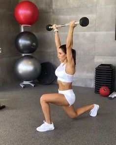 """3,910 Likes, 41 Comments - Alexia Clark (@alexia_clark) on Instagram: """"Saturday Feels 1. 12 reps each side 2. 40-60seconds 3. 30-40seconds each side 4. 12 Reps each…"""""""